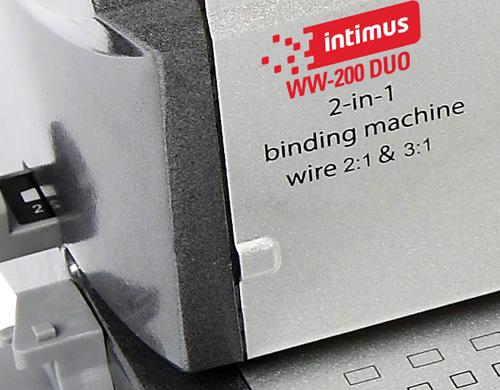 L'Intimus 200 Duo peut relier entre 1 et 100 dossiers par jour