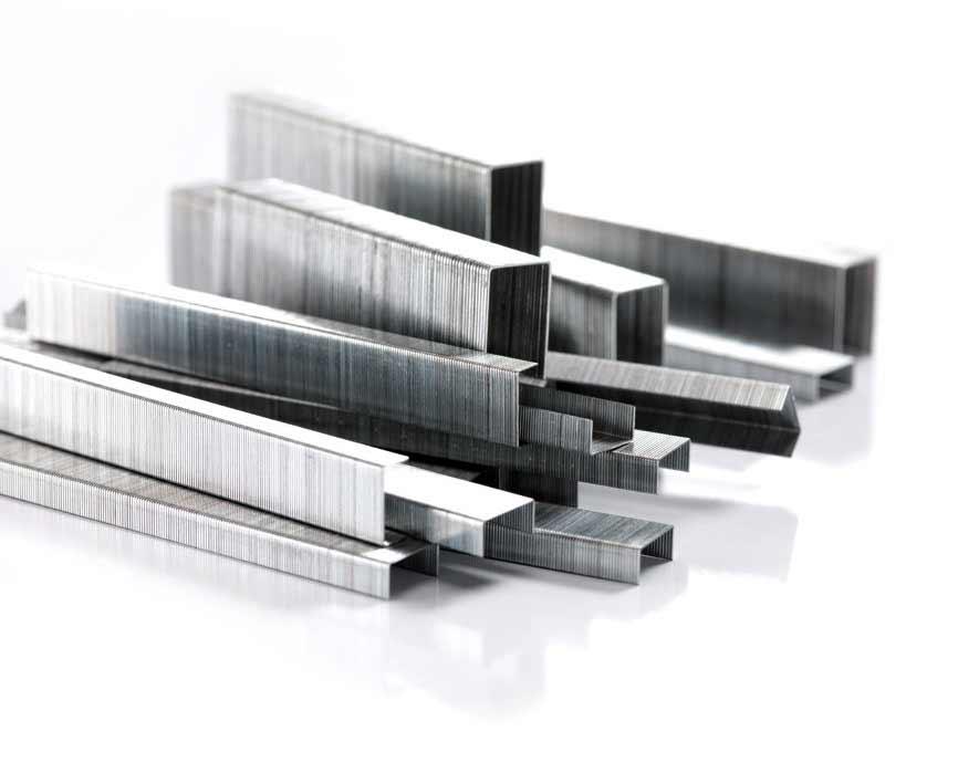 agrafes en acier galvanisé