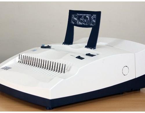 Le perforelieur DSB CB-3000 a un look bureautique et élégant