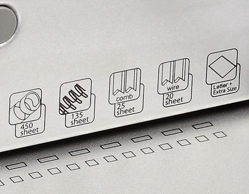 perforer le papier électriquement avec le perforelieur CW-200e Duo d'Intimus