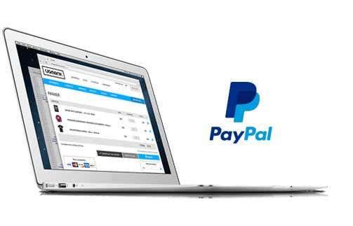 paiement sécurisé avec votre compte Paypal