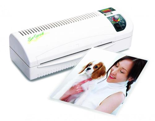 plastifiez toutes sortes d'imprimés avec votre plastifieuse SoGood 230S A4