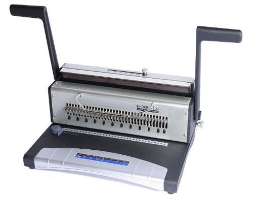 perforation du papier avec le relieur métal W33