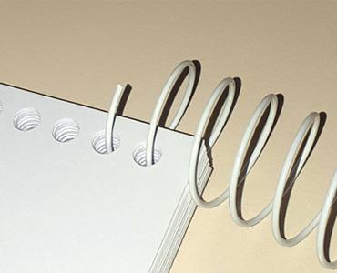 Des spirales coil pour votre perforelieur métal 34 trous