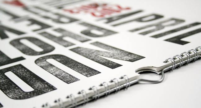 fabrication de calendriers personnalisés et reliés