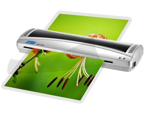 plastifiez tous vos imprimés jusqu'au format A3 avec la plastifieuse DSB HQ-335