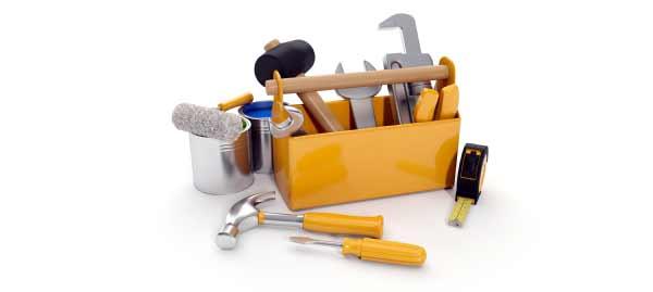 outils pour réparer une plastifieuse
