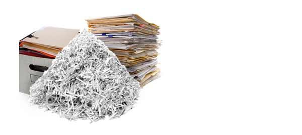la destruction sécurisée de papiers plastifiés est possible