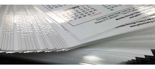 respecter le cycle de la plastification d'imprimés