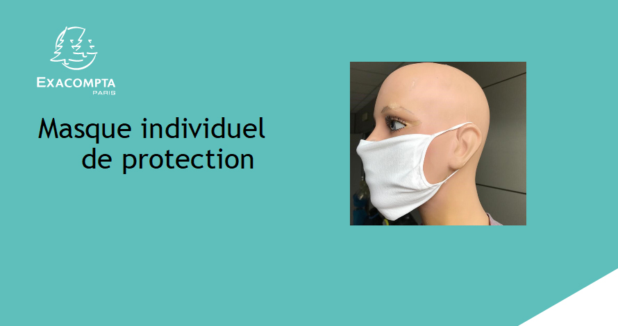 masque individuel de protection exacompta