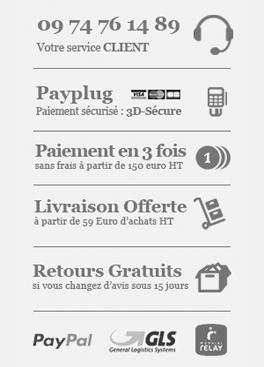 logos moyens de paiement sécurisés